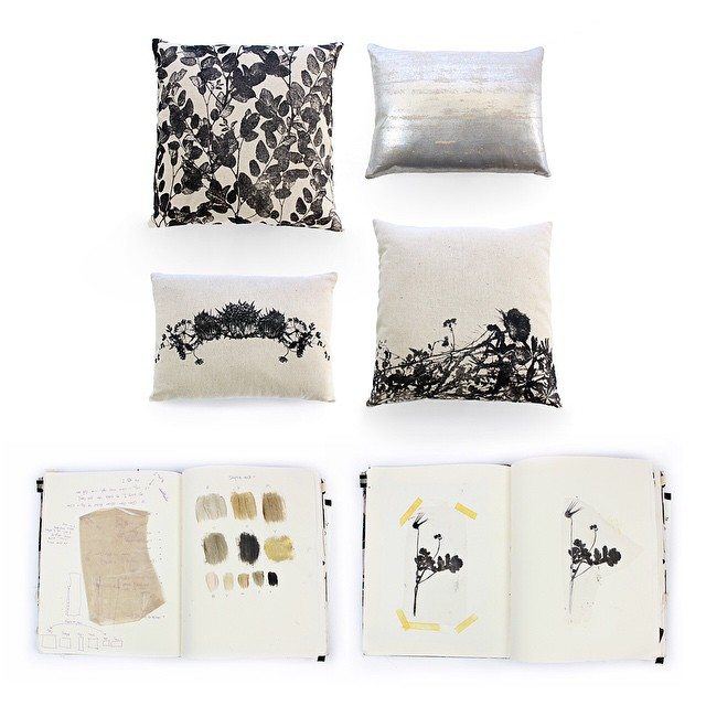 #textiledesign #WILDFLOWERS #art #sketchbook 📔 design process #planetariumdesign