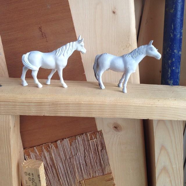 Our studio #horses #planetariumdesignstudio