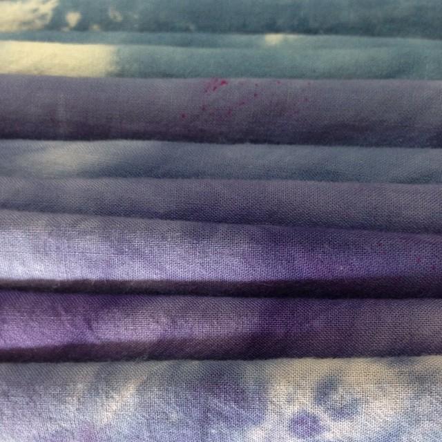 Tie&dye #purples !! #planetariumdesignstudio #textiledesign