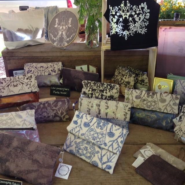 Last pic for the day :) #ithacafarmersmarket #planetariumdesign #textiledesign