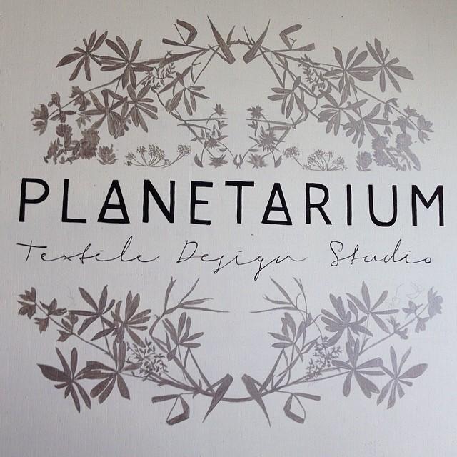Done! #planetariumdesign #textiledesign booth #sign
