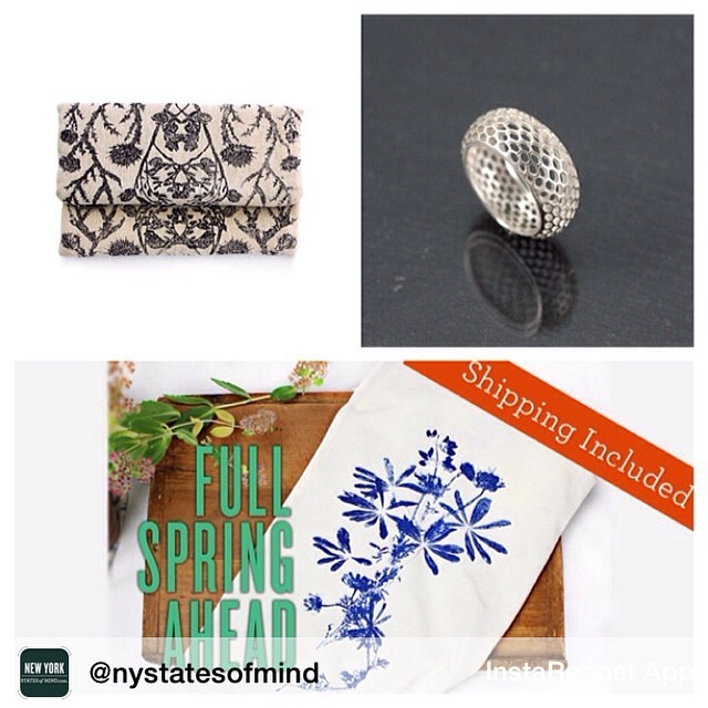 Repost from @nystatesofmind Spring has sprung on our #NYSOM marketplace! Check out our newest makers: Elmira-made Planetarium Designs (@estheryaloz) & Kingston's Rachel Atherley