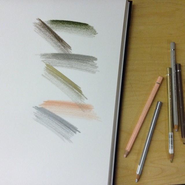 #Coloredpencils + #sketchbook #planetariumdesign