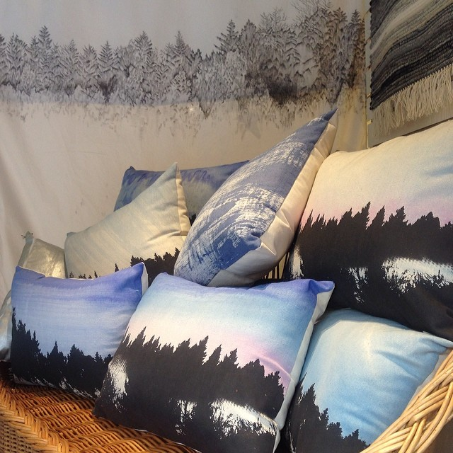 New pillows #windowdisplay #textiledesign #planetariumdesign