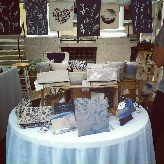 #planetariumdesign #textiledesign #booth display at the Apple harvest festival in #beautiful Ithaca we had such a great time and met tons of amazing people!