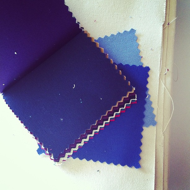 Just in my new #canvas #fabric #samples #American #made !