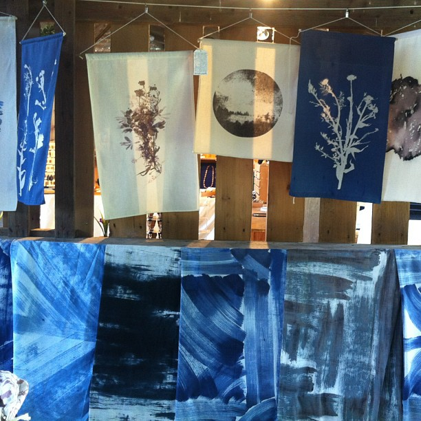 Today at the #ithacafarmersmarket #Ithaca #farmersmarket #blue #primts #planetariumdesign