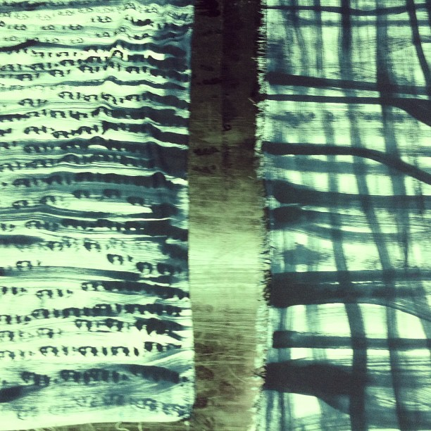 #painting new #scarves #patterns