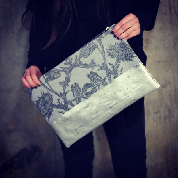 Planetarium design #wild #thorns #clutch #bag #planetariumdesign