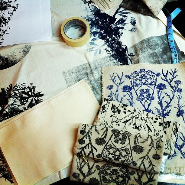 #studio #worktable #fabric