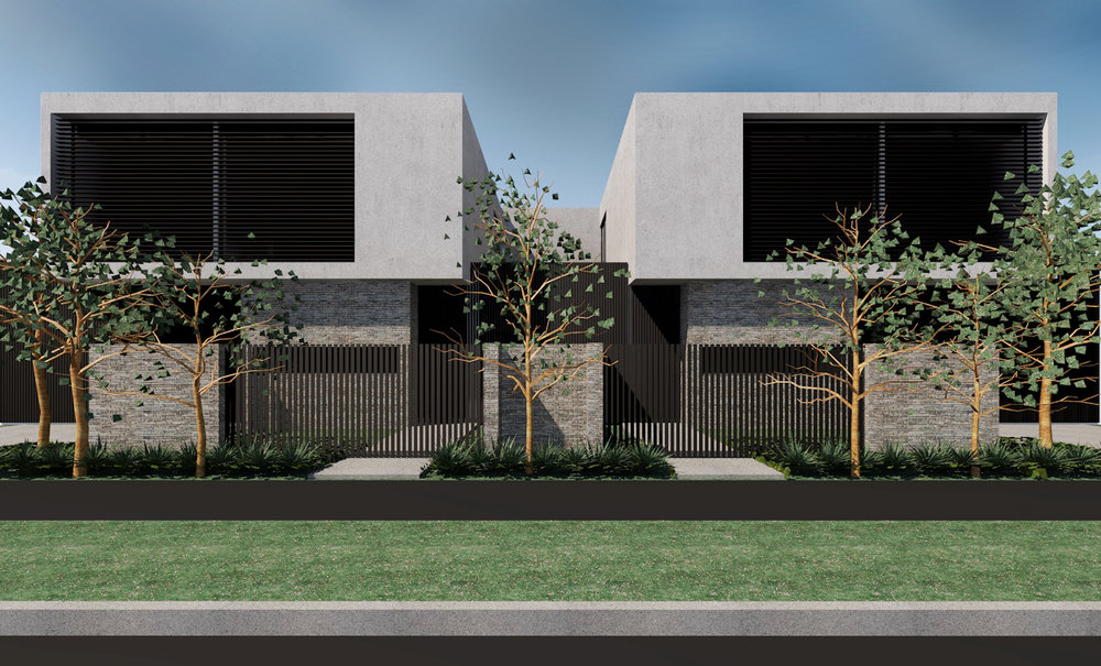 KEW TOWNHOUSES 01 |  NEW RESIDENCES