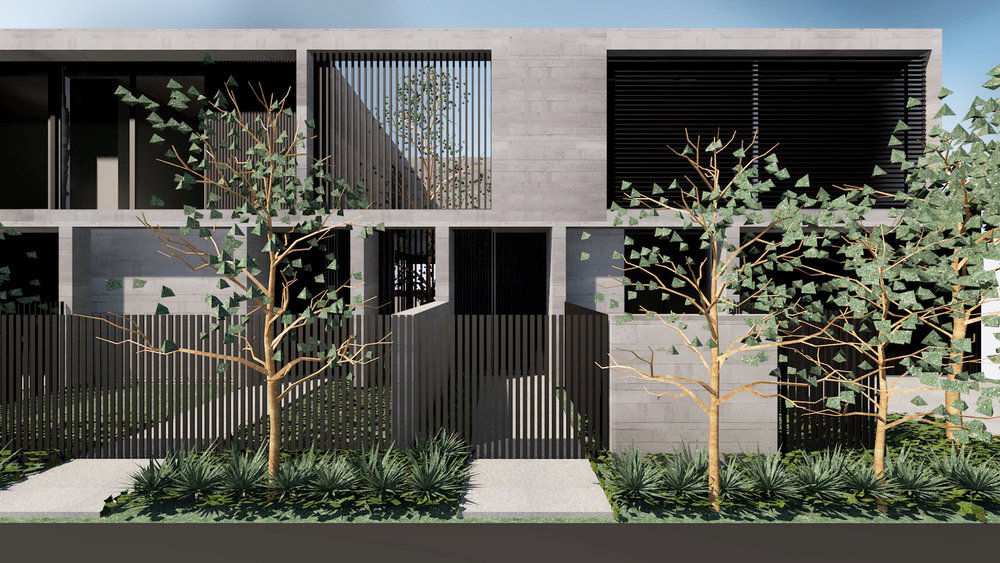 OFFSET TOWNHOUSES   |  NEW RESIDENCES