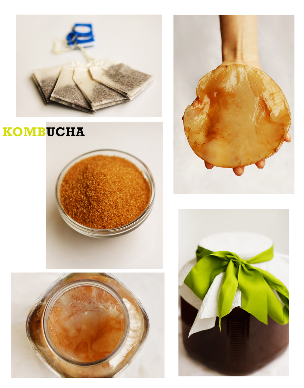 HOW-TO MAKE KOMBUCHA