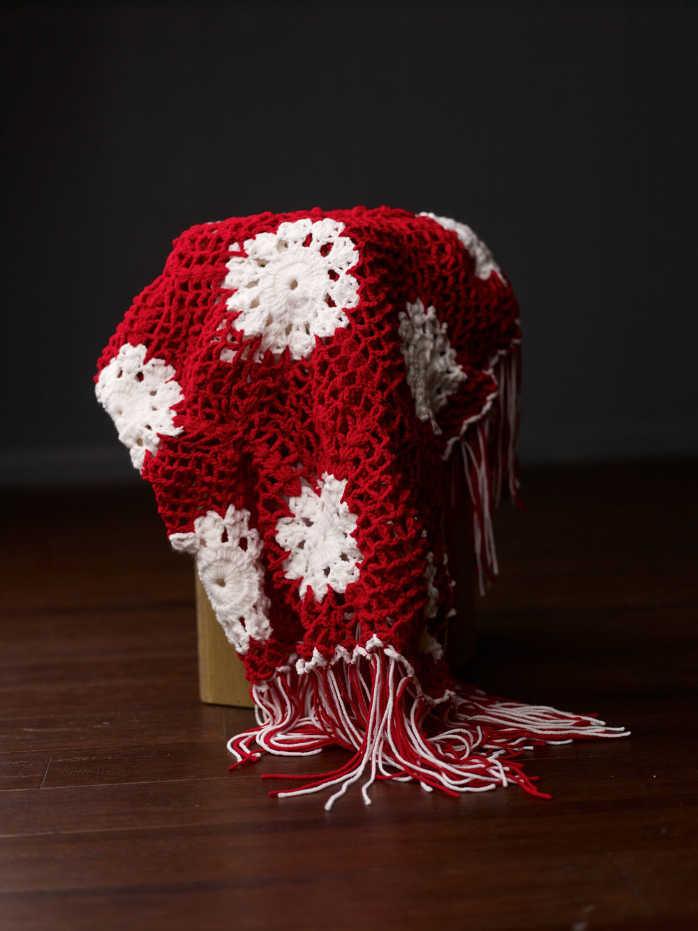 red and white floral throw.jpg