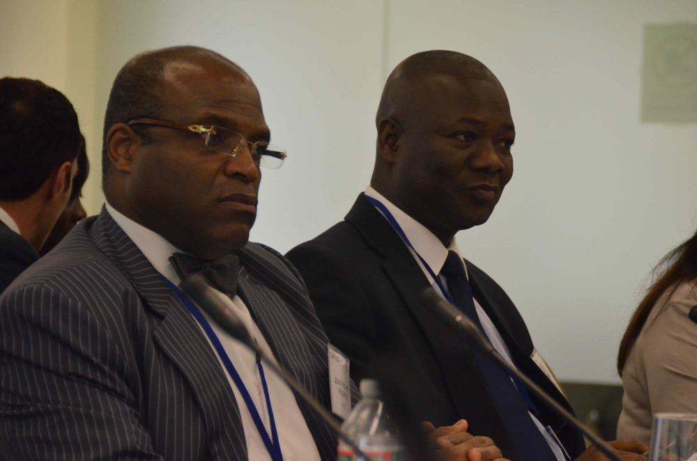 Le vice Président du CIF, Jean Philippe Prosper et le Président du g7+ son Excellence Kaifala Marah ont assisté à une réunion avec le FSI.