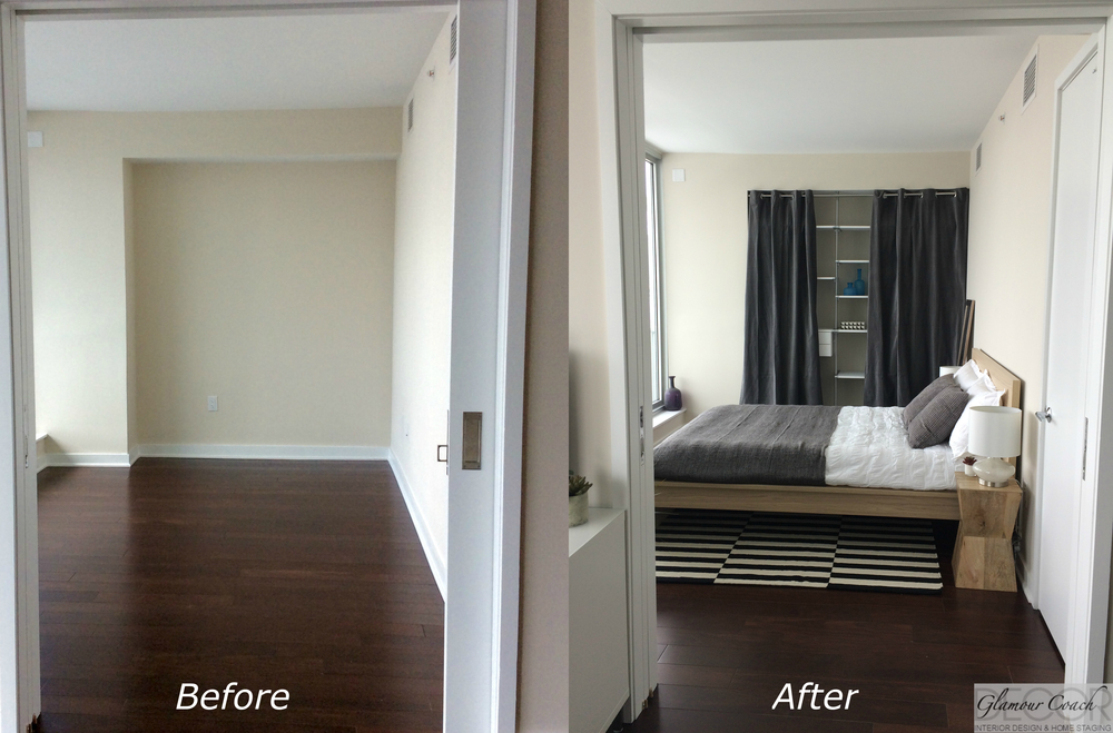 Before Amp After Glamour Coach Decor