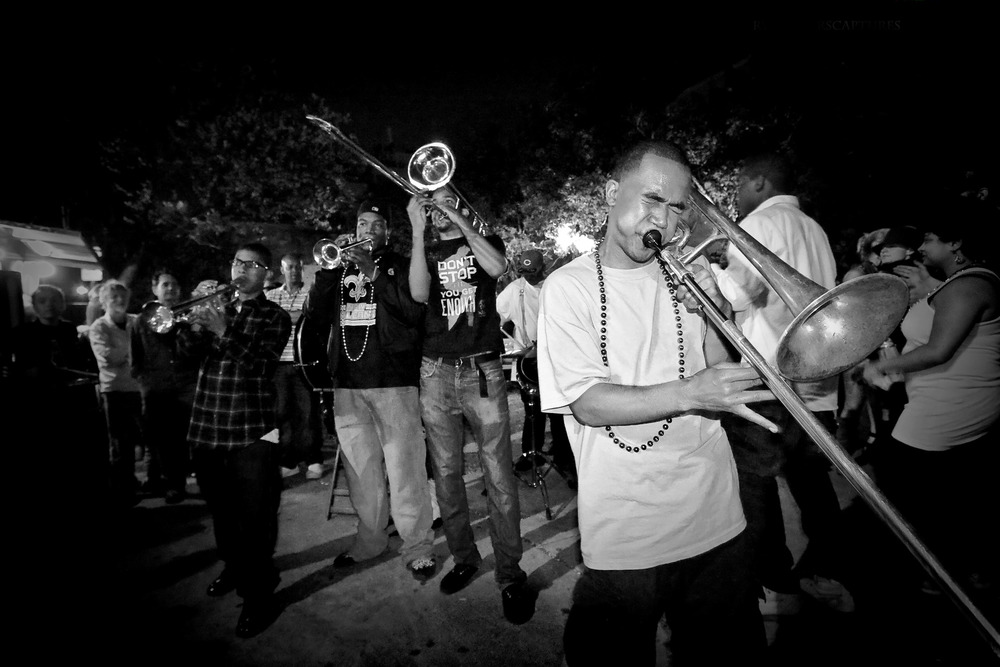 Young Fellaz Brass Band  New Orleans, LA  April 2009