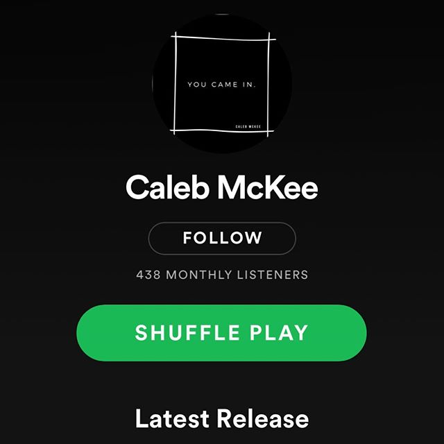 So much fun listening to these songs by @_calebmckee_ ... way to go Caleb!