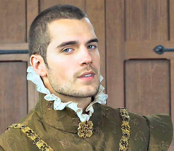 No, he didn't play Henry VIII, but any opportunity to include a picture of Henry Cavill is fine by me