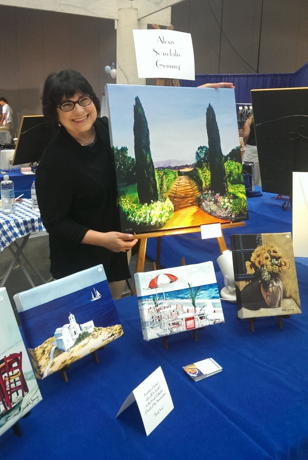 Showing at the Annunciation Greek Orthodox Church Annual Festival in Sacramento.