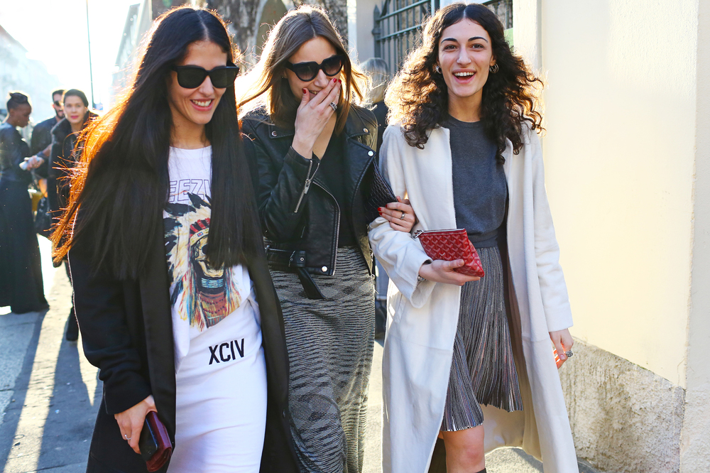 Street Style: MFW 2014 Fall 米蘭時裝週2014秋季系列發表會外街拍回顧