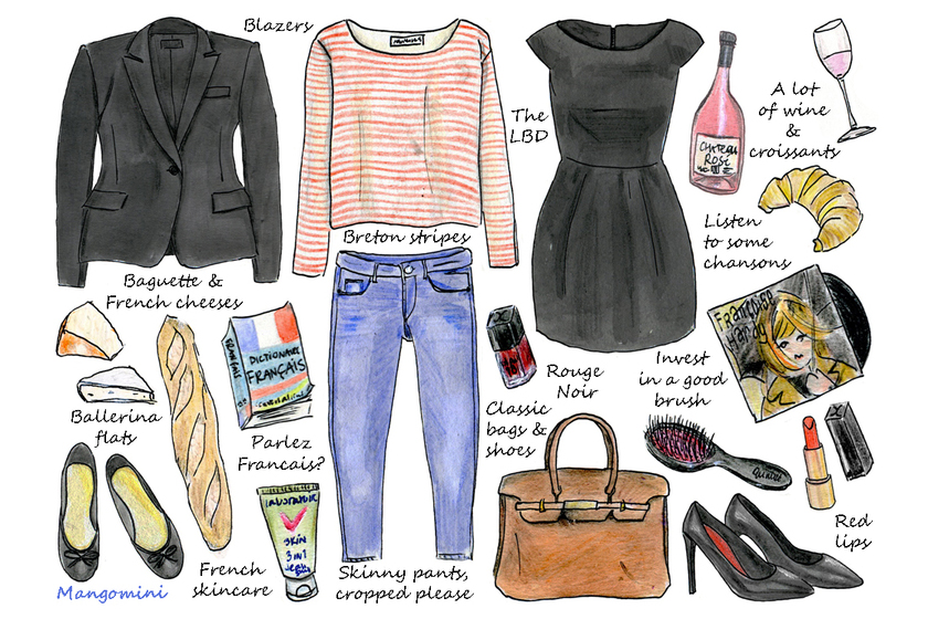 How to dress like a French Girl?