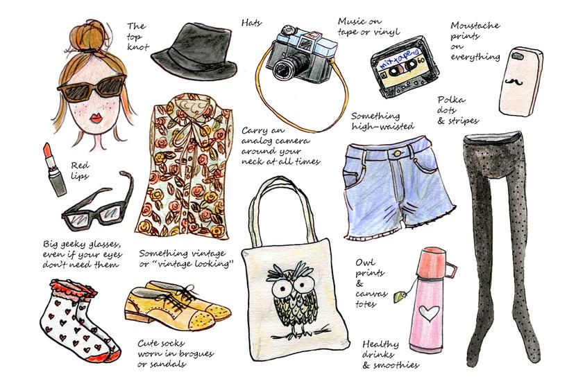 Dress like a Hipster