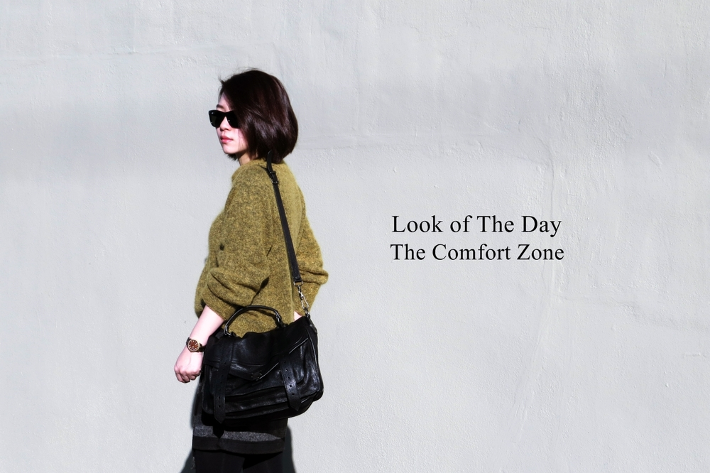 Look of the day: The Comfort Zone