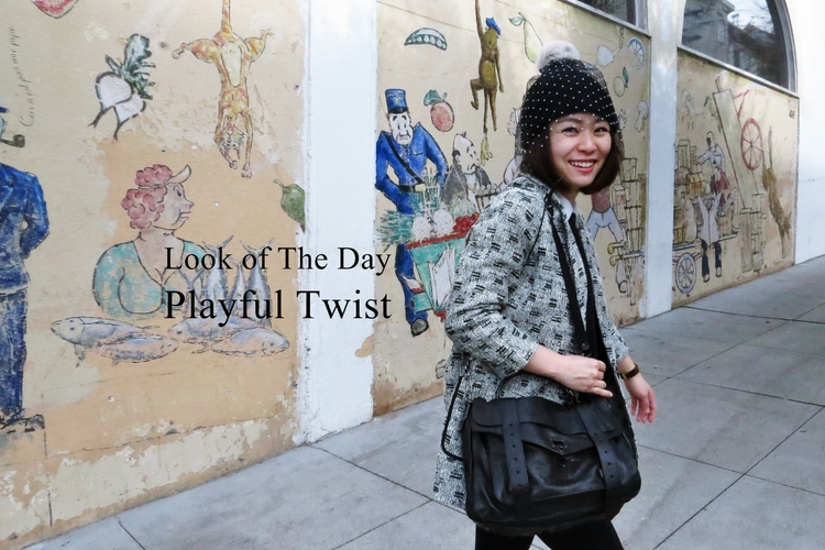 Look of the day: Playful Twist