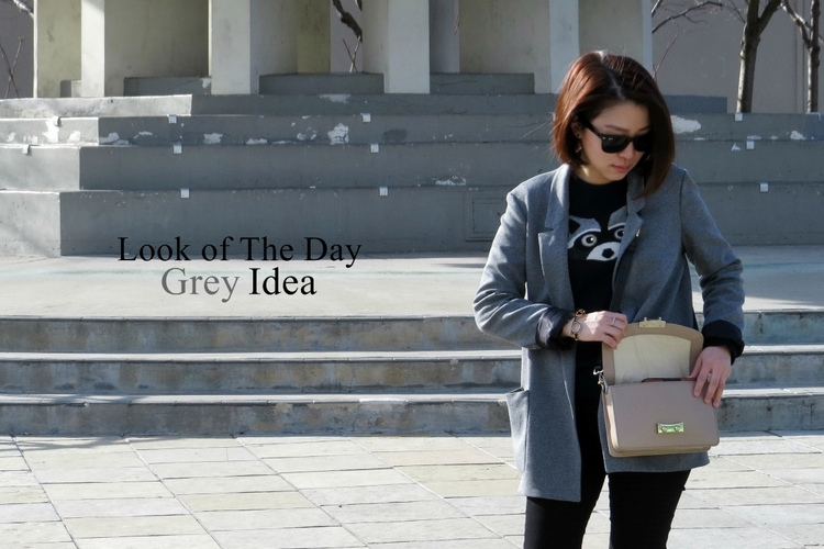 Look of the day: Grey Idea