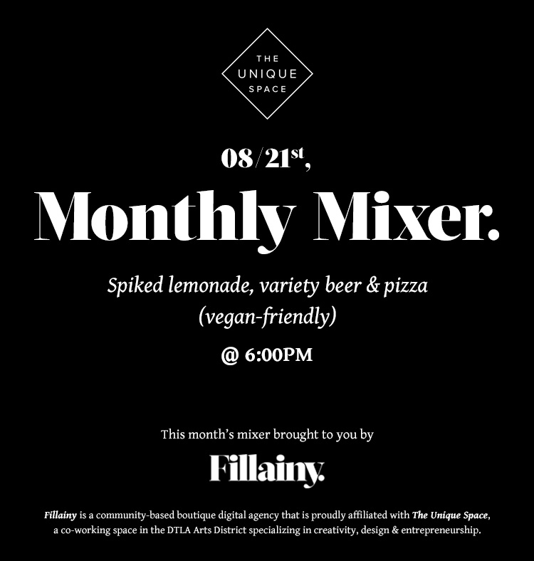 Fillainy Mixer