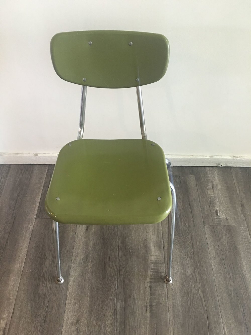School Chair Green Quantity: 4