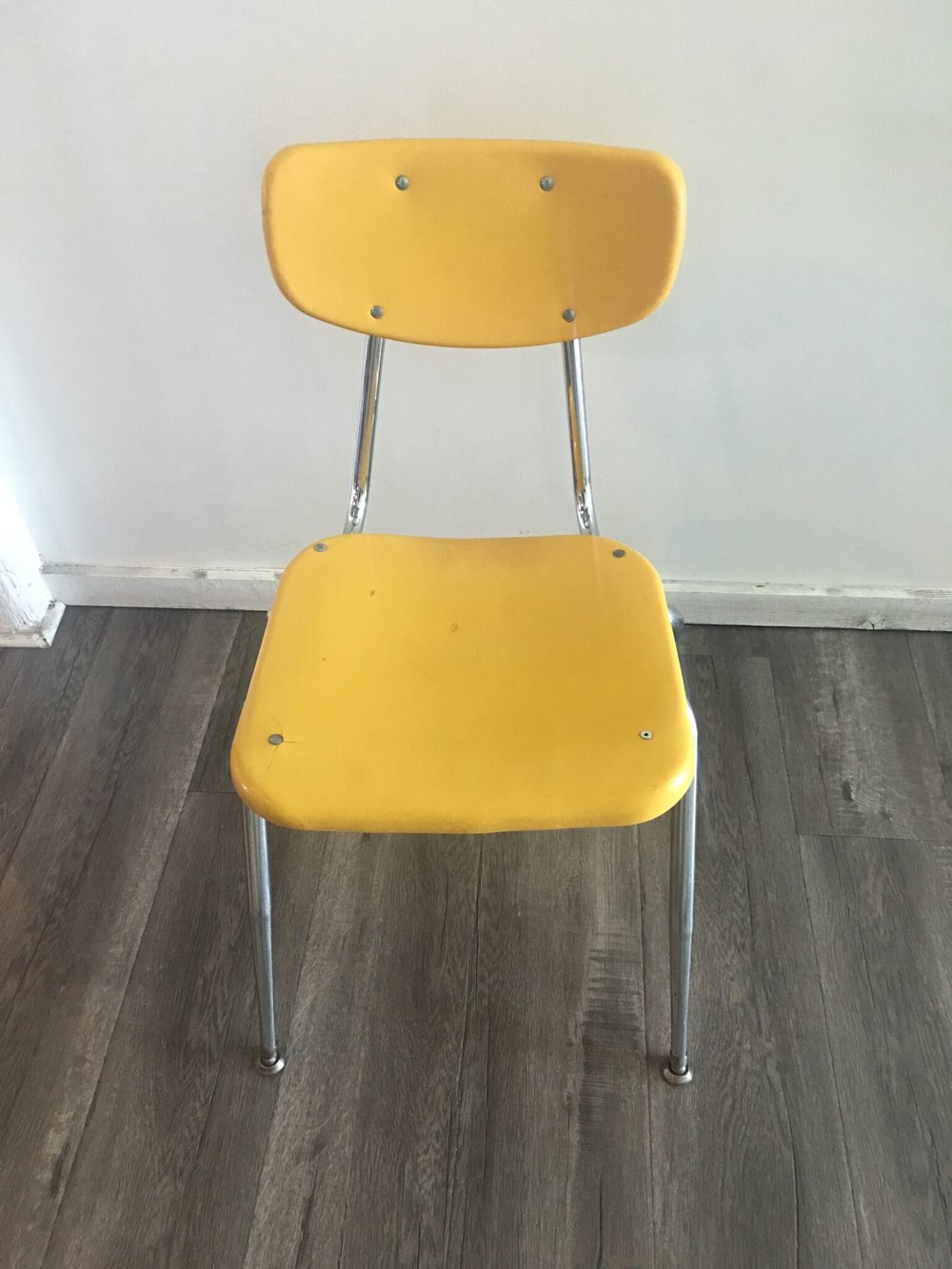 School Chair Yellow Quantity: 4