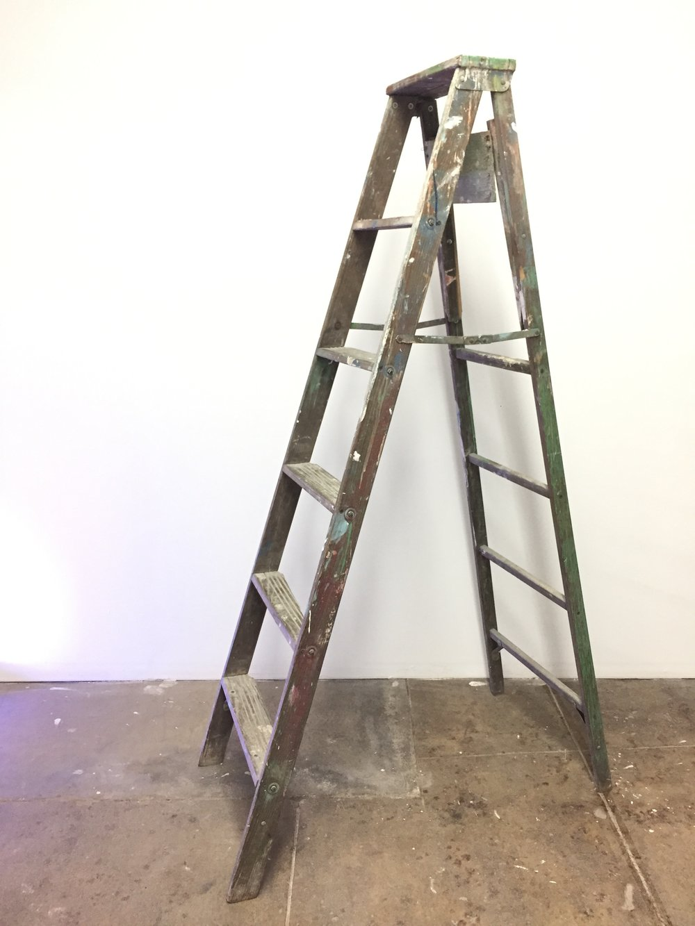 Decorative Antique Ladder QTY: 1 Price: $25