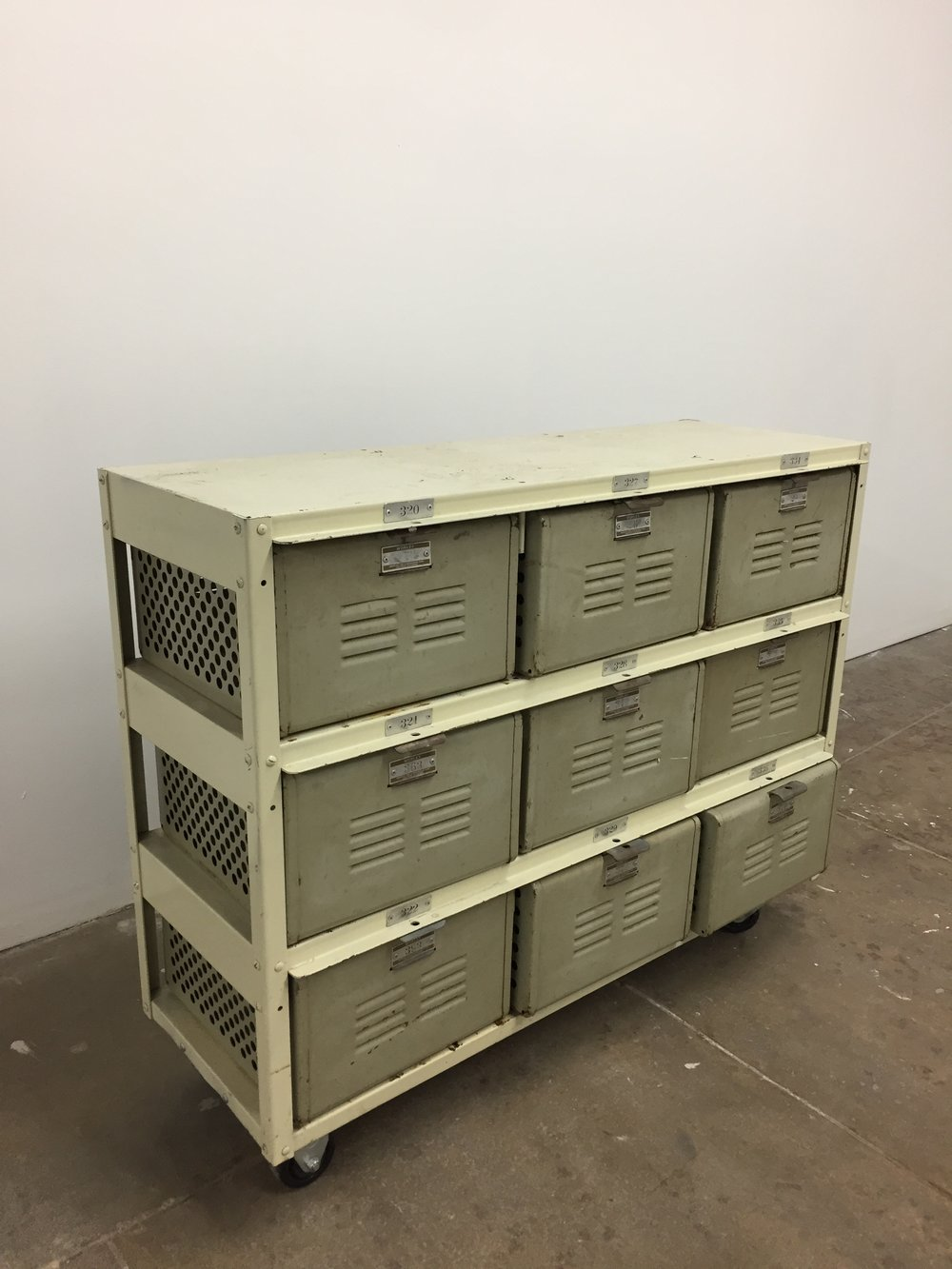 Metal Lockers QTY:1 Price: $45