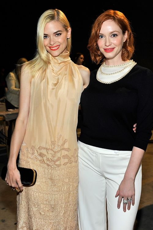 Jaime King and Christina Hendricks at TUS.jpg