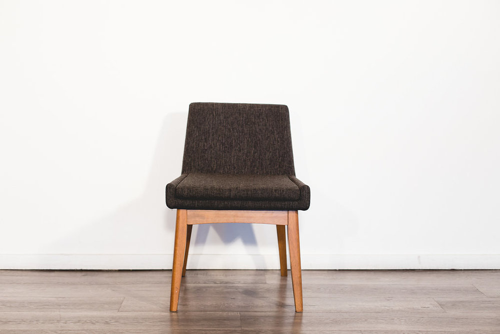 Charcoal Upholstered Chair Quantity: 3