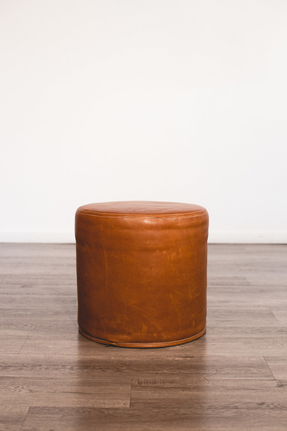 Brown Leather Ottoman Quantity: 1 Price: $60
