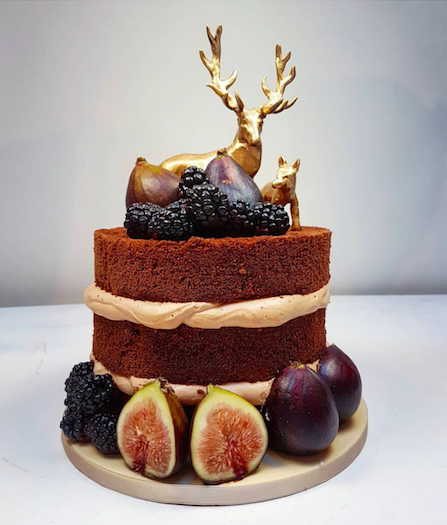 Cake and Photo by @schoko_risu