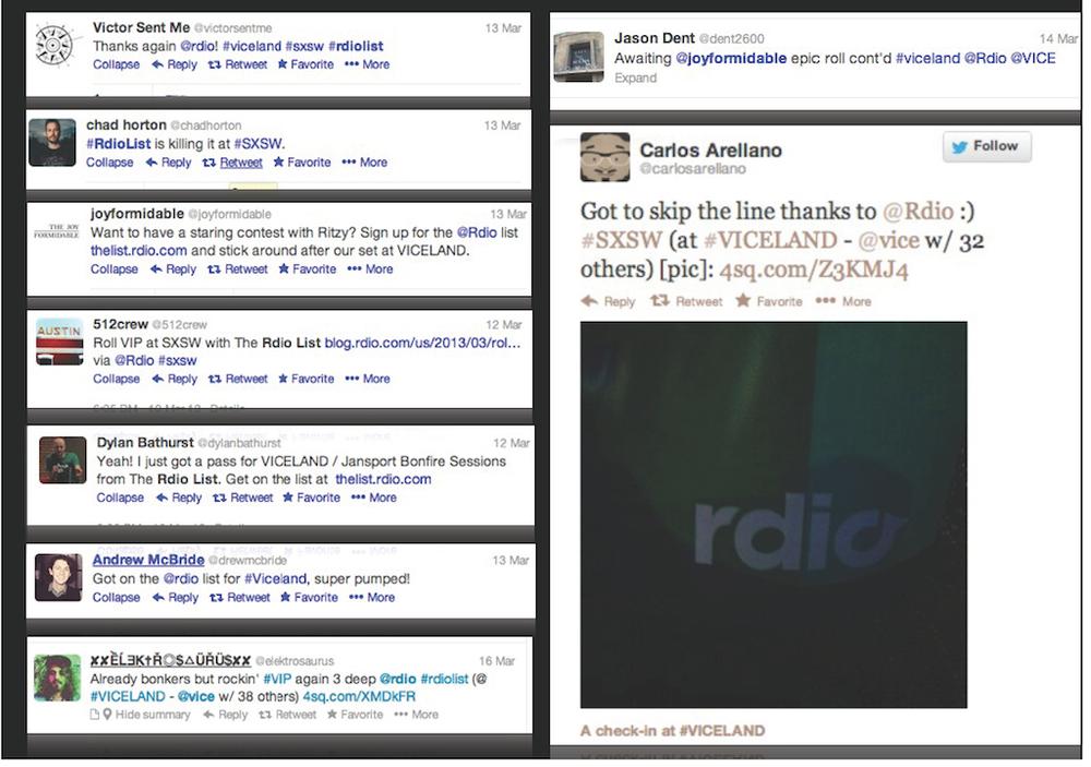 rdio sxsw rdio list tweets.jpg