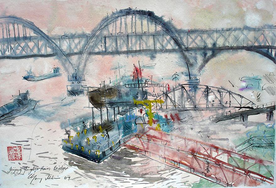 Juijang Yangtze River Bridge