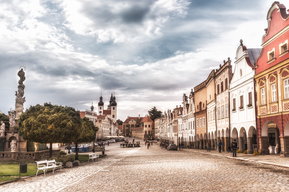 Telc, Square of Zacharias of Hradec