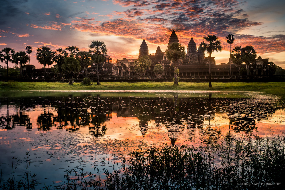 Sunrise at Angkor Wat. Fujifilm X100S at 23mm