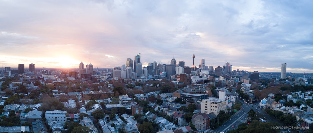 Ungraded panorama stitch out of the Lightroom