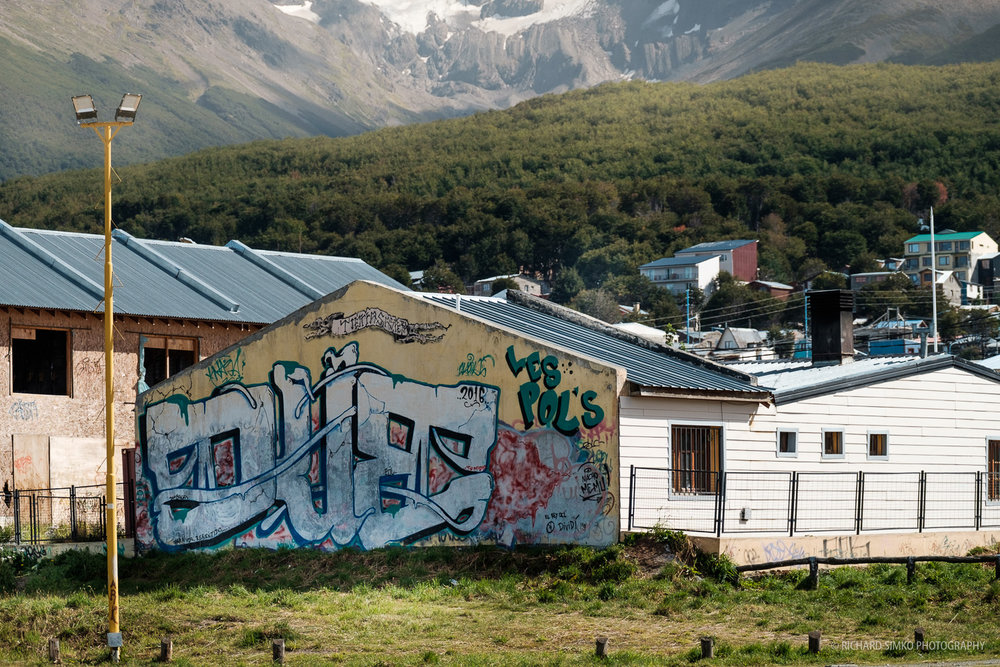 Ushuaia graffiti