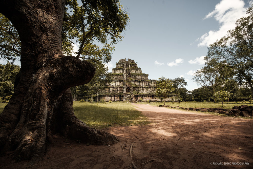 Prasat Thom, the 7-tier pyramid shaped temple in Koh Ker area.