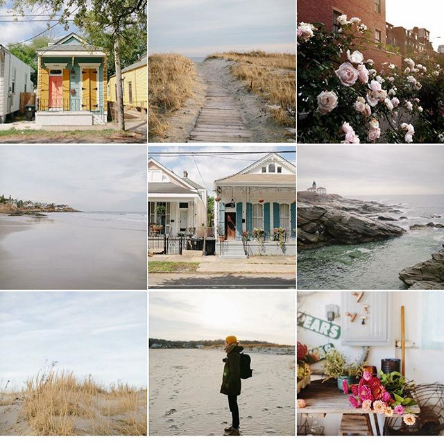 top 9 for 2018...travel, New England, and fleurs. Three of my favorite things. I haven't been posting much on here since we came to NYC because I haven't been shooting all that much. Here's to hoping for a little bit of creative cultivation in the new year and to hopefully planning some fun adventures!