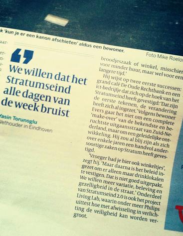 Uitsnede Volkskrant, 09-01-2014