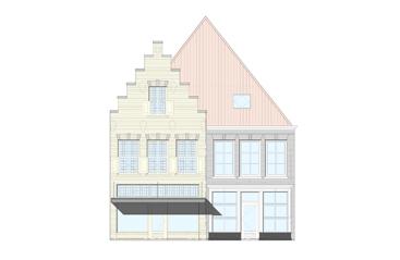 Tekening Voorgevel: Aartsen & Partners Architecten