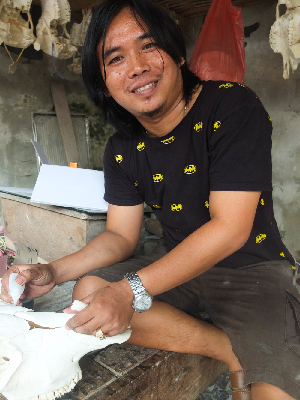Indra Suryaningrat - Our Amazing Head Craftsman and Team Leader